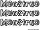 Mis Respuestas de Lectura de Monstruo y el amor -  RdngResp & Craft SPAN