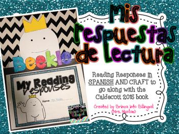 Mis Respuestas de Lectura en un librito Beekle -  Rdng Responses & Craft in SPAN