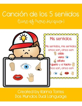 Mis Sentidos (My 5 senses) Song