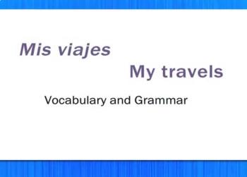 Mis Viajes - My Travels - Review Video Tutorial