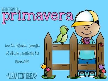 Mis historias de primavera {Spring Comprehension Stories in Spanish}