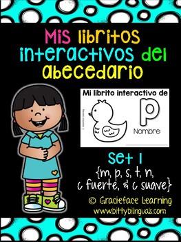 Mis libritos interactivos del abecedario - Spanish Interactive Alphabet Books 1