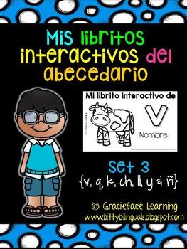 Spanish Phonics: Syllables & Sounds - Mis libritos interactivos del abecedario 3