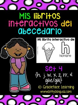 Spanish Phonics: Syllables & Sounds - Mis libritos interactivos del abecedario 4
