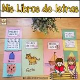 Mis libros de letras (Alphabet Flip books in Spanish)