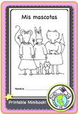 Mis mascotas Pets Spanish Printable Minibook