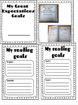 Mis metas de lectura, escritura y matemáticas...