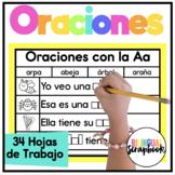 Mis oraciones {Complete the sentence in Spanish}