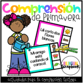 Mis oraciones de primavera (Clip a Sentence in Spanish - Spring Edition)