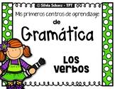Los verbos - mis primeros Centros de aprendizaje de gramática