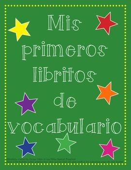 Mis primeros libritos de vocabulario/Vocabulary Booklets