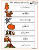 Mis sílabas de otoño