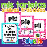 Mis tarjetas de sílabas trabadas con L