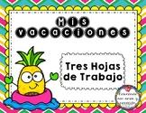 Mis vacaciones (Spanish)