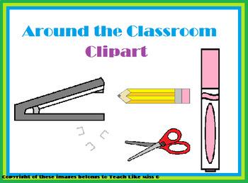 Misc. Classroom Items Clipart