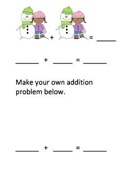 Kinder Math Adding and measuring