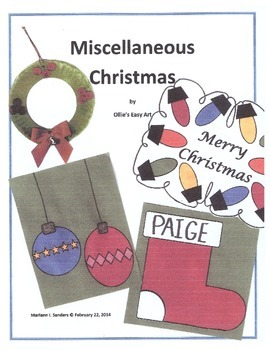 Miscellaneous Christmas Projects for a Week
