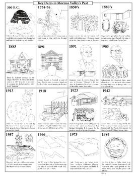 Miscellaneous Moreno Valley Coloring Printables