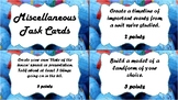 Miscellaneous Social Studies Extension Project Task Cards