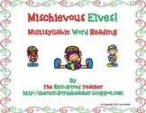 Mischievous Elves Multisyllabic Word Reading