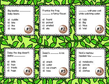 Alliteration Centers - Mischievous Monkeys