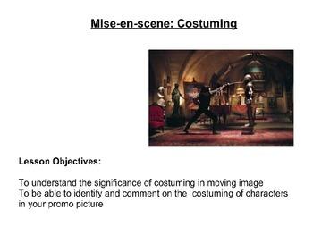 Mise-en-scene  - Media/Film Studies