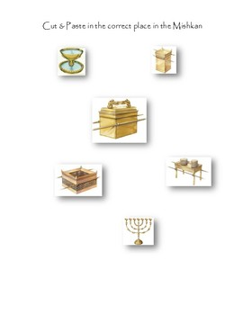 Mishkan printable Pack (Tabernacle)