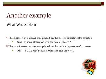Misplaced, Dangling, & Squinting  Modifiers PPT