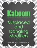 Misplaced and Dangling Modifier Kaboom Game