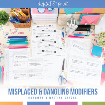 Misplaced and Dangling Modifiers Bundle
