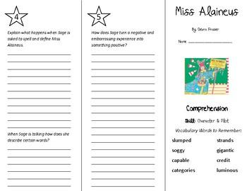 Miss Alaineus Trifold - Treasures 5th Grade Unit 6 Week 1 (2011)