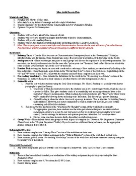 Lesson: Miss Awful by Arthur Cavanaugh Lesson Plans, Worksheets, Key, Powerpoint