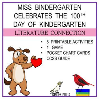 Miss Bindergarten And The 100 Day of Kindergarten -6 Easy