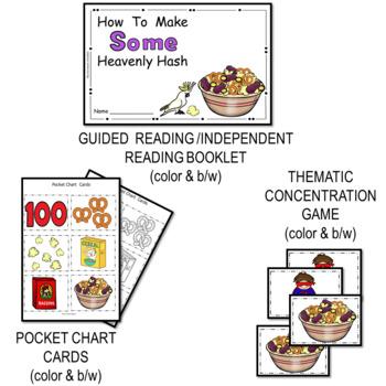 Miss Bindergarten And The 100 Day of Kindergarten -6 Easy Prep Literacy Centers