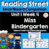 Miss Bindergarten Field Trip SmartBoard Companion Kindergarten