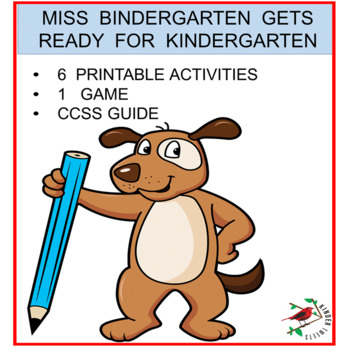 Miss B  Gets Ready For Kindergarten Easy Prep Activities for First Day of  School