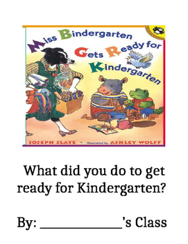 Miss Bindergarten Gets Ready for Kindergarten Class Book Cover