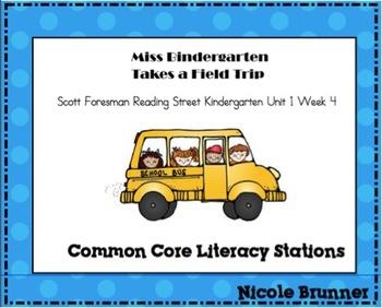 Miss Bindergarten  Reading Street Unit 1 Week 4 Common Cor