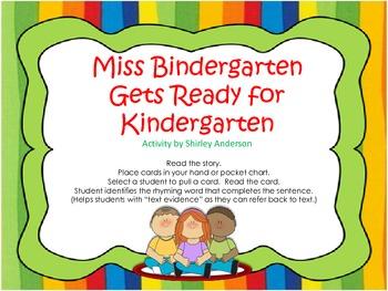 Miss Bindergarten- Rhyming