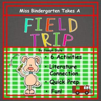 Miss Bindergarten Takes A Field Trip:  6 Easy Prep Literacy Centers