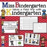 Miss Bindergarten Takes A Field Trip Kindergarten Unit 1 Week 4