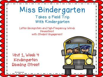 Miss Bindergarten, PowerPoint with Student Engagement, Kindergarten