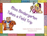 Miss Bindergarten Takes a Field Trip Teachers Activity/Center Kit