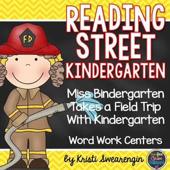 Miss Bindergarten Takes a Field Trip with Kindergarten Unit 1 Week 4