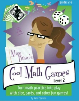 Miss Brain's Cool Math Games (Level 2) Complete Bundle