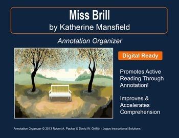"""Miss Brill"" by Katherine Mansfield: Annotation Organizer"