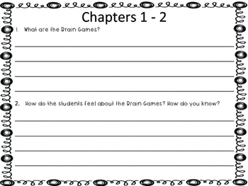 Miss Brown is Upside Down by Dan Gutman- Guided Reading Study Guide