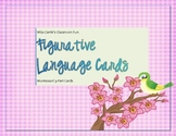 Figurative Language Matching Game, Montessori 3-Part Cards - FREEBIE!