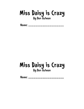 Miss Daisy is Crazy Book Club