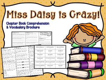 Miss Daisy is Crazy Comprehension Brochure